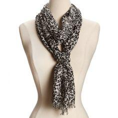 scarves pinterest | Animal Print Scarf | My Pinterest Closet