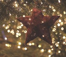 Inspiring picture christmas tree, lights, star. Resolution: 500x333 px. Find the picture to your taste!