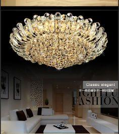 Fumat Modern Ceiling Light K9 Crystal Ball Lustre Mount Hallway Lighting Fixture Led Plafondlamp Luminaria Pendant Ceiling Lamp Comfortable And Easy To Wear Ceiling Lights & Fans