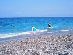 Uudet uimapatjat ja ekaa kertaa mereen
