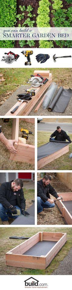How to make a garden box Garden boxes Tutorials and Gardens
