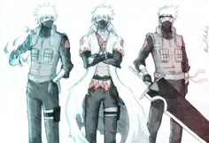 Naruto, Kakashi Hatake: He looks great in this image!!