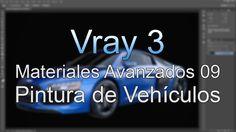 Vray Materiales Avanzados - Parte 09 - Pintura Vehículos (Carpaint)