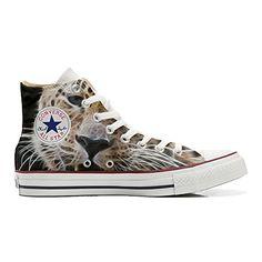 Converse All Star personalisierte Schuhe (Handwerk Produkt) Tiger Style - http://on-line-kaufen.de/make-your-shoes/converse-all-star-personalisierte-schuhe-tiger