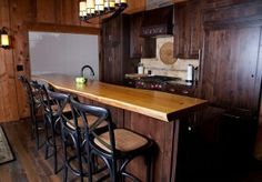 David Stine Woodworking Custom Wood Slab Commercial Countertops, Bartops  And Drink Rails.