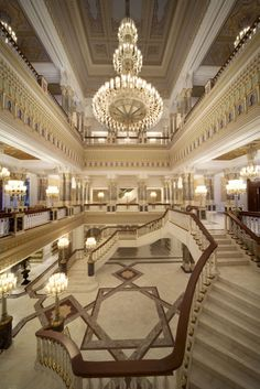 Palace in istanbul Unique Hotels, Best Hotels, Resorts, Santorini, Ankara, Kempinski Hotel, Visit Turkey, Istanbul Travel, Grand Staircase