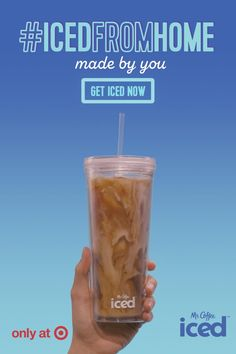 DIY your way to a delicious taste of fall with the Mr. Coffee Iced™ Coffeemaker. Iced Coffee Maker, Coffee Coffee, Iced Coffee Machine, Coffee Drinks, Morning Coffee, Spiced Coffee, Black Coffee, Coffee Break, Coffee Time