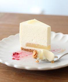 pikku murusia: Omena-vaniljajuustokakku