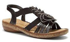 Rieker Regina Black Leather ~ Details ->> http://amzn.to/MfxKl0