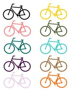 BICYCLE CLIP ART FOR TEACHERS