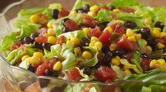 ReadySetEat - Corn and Black Bean Chopped Salad - Recipes