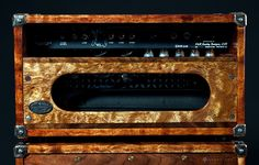 Heavy Magic Ultra Custom Guitar Amp, Two-rock Custom Reverb V1, back of head