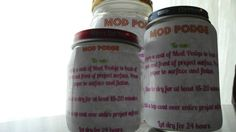 Mod Podge recipe: You can do it yourself! Apps (since we were just talking about Mod Podge at your house today! Diy Arts And Crafts, Diy Craft Projects, Home Crafts, Fun Crafts, Craft Ideas, Home Made Mod Podge, Diy Mod Podge, How To Make Homemade, Homemade Crafts
