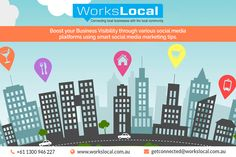 Now connect your business with your local community with the latest marketing tips. Workslocal, best marketing teams give you complete strategy, new marketing tips and latest updates in the business and promotional marketing. They also specialize in various services like local area marketing services, social media marketing, paid FB campaigns, promotional products, web design services, and more.  For further information, you can contact them on their website or their phone number…