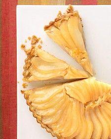Johns Pear and Almond-Cream Tart