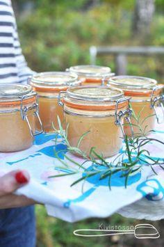 Pear Rosemary Jam - Kivistössä Foodbloge www.kivistossa.com