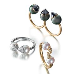 Stackable stunners #tasaki
