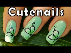 How to do buterfly design on nails with one stroke technic. Easy nail art to do at home ! Suitable for beginners ♥ If you like my nail art designs, feel free to click Like button! :) ♥ Comment, share if you like this tutorial ! ♥ Subscribe to my channel to watch more nail art tutorials http://www.youtube.com/subscription_center?add_user=cutenai...