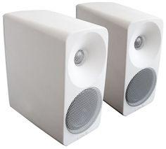 Aurelia Aniara jalustakaiutinpari, valkoinen Etukaiutin Bluetooth, Audio