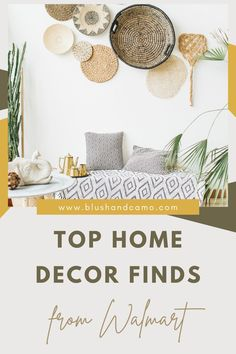 I've rounded up the best home decor finds from Walmart for you! There's a little something for everyone on the list! Whether your redoing you kitchen, bathroom or living room, I've found the deals you've been looking for! #walmart #interiordesign #homeinspo #interior #budgetfriendly