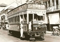 As Saigon eagerly awaits its first metro line, we look back at the city's original rail-based transportation - streetcars. ...
