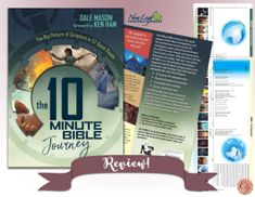A Homeschool Mom's review of The 10 Minute Bible Journey. Join us and learn more!