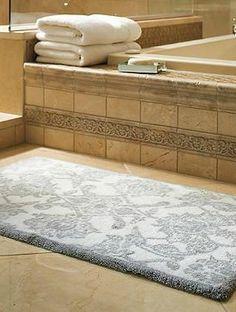 Diamanta Striped Bath Mat Eu Anthropologie And Bath - Luxury bath rugs for bathroom decorating ideas