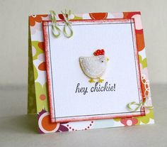 Hey chickie!  Spellbinders circles and ?