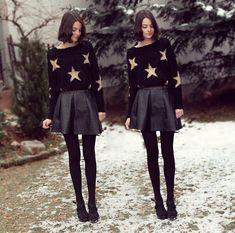Stars (by Nory Aradi) http://lookbook.nu/look/4326123-Stars