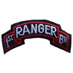 PATCH, ARMY RANGER 1st BATTALION