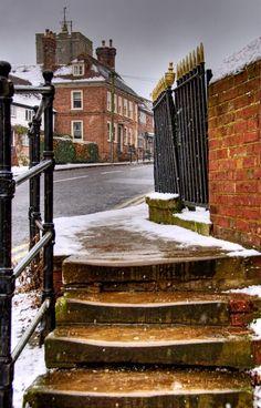 Step back in time, Staplehurst, Kent, England