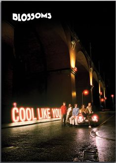 Blossoms — cool like you ✨ Blossoms Band, Bus Station, Music For Kids, Kids Shows, Indie Kids, Old Photos, Rock N Roll, Make Me Smile, Alternative Music
