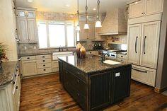 reclaim wood, floors, kitchen colors, wood floor, kitchen dream
