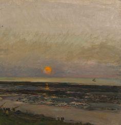Sunset at Villerville - Van Gogh Museum