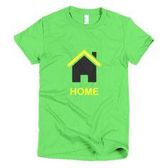 Home Jamaica - Short sleeve women's t-shirt - Properttees