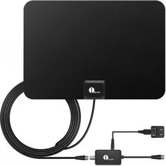 Upto 40 Mile RCA ANT751R RCA ANT751R Compact Outdoor HDTV Antenna