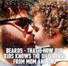 Beards Bad Beards, Great Beards, Beard Quotes, Beard Humor, Bald Men, Epic Beard, Beard Styles, Mom And Dad, Haircuts