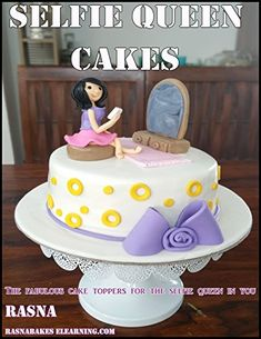 The Contemporary Cake Decorating Bible: Over 150 Techniques and 80 Stunning Projects Gourmet Desserts, Delicious Desserts, Dessert Recipes, Queen Cakes, Great British Bake Off, Baking Recipes, Cake Toppers, Cake Decorating, Cooking