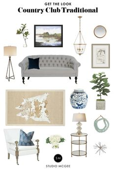 Country Club Traditional - Studio McGee Blog