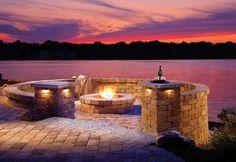 bond fire place