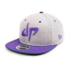 84e549517c244 DP x New Era 9Fifty Snapback    Gray + Purple