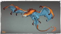 Murey Dragon by ExoMemory.deviantart.com on @DeviantArt