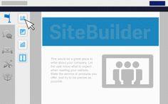 Sleep widgets naar de SiteBuilder