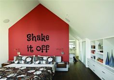 Taylor Swift Shake It Off Song Lyrics Music Wall Art Sticker