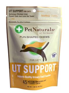 Pet Naturals UT Support for Cats (45 count) * You can get more details by clicking on the image. (This is an affiliate link and I receive a commission for the sales)
