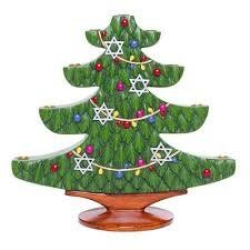 Christmas Tree Menorah >>> Click image for more details. (This is an affiliate link) Christmas Candle Holders, Hannukah, Christmas Tree, Christmas Ornaments, Menorah, Candelabra, Candles, Display, Traditional
