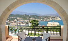 Pegasus Maisonettes - Authentic Crete, Villas in Crete, Holiday Specialists Greek Island Holidays, Crete Chania, Greek Islands, Pegasus, Strand, Patio, Modern, Villas, Outdoor Decor