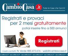 PROVA GRATIS PER 2 MESI! http://www.cambiocasa.it/case_it/registrazione_agenzie_intro.aspx