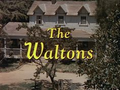 The Waltons logo for the first part of Season 1