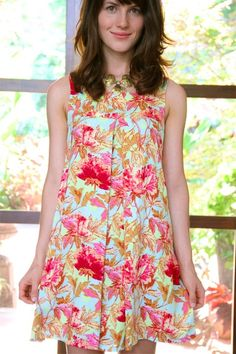 Amy Butler's Soul Blossoms Fabrics with The Mini Top (sewing pattern available)